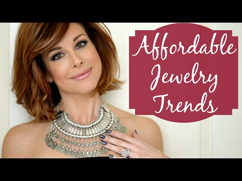 Affordable Jewelry Trends I Love!