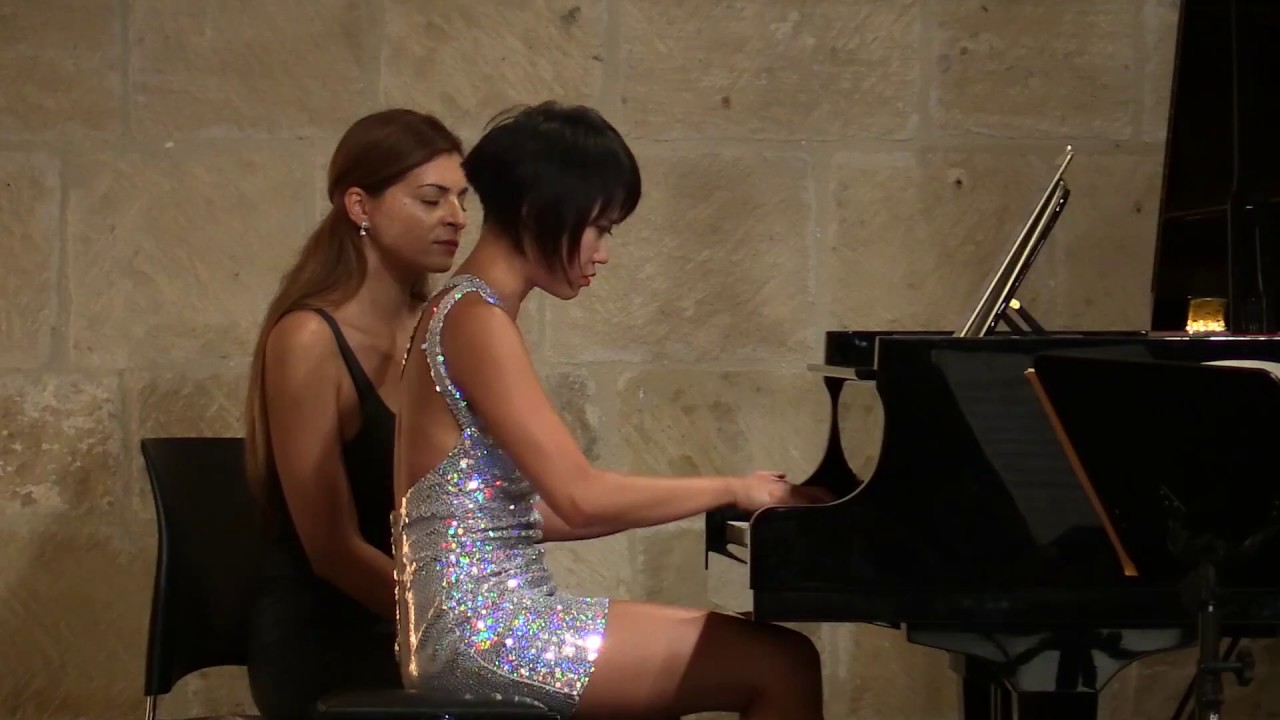 Rachmaninov Sonata for Cello & Piano Mov. II with Yuja Wang