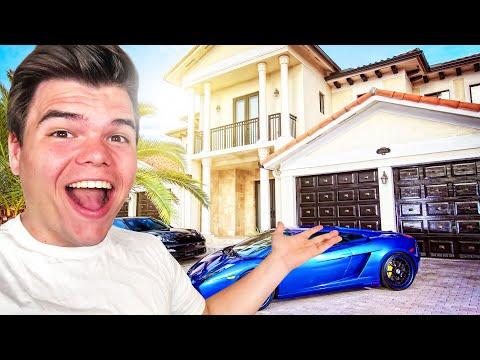 My NEW $6,500,000 HOUSE TOUR! - Thời lượng: 10 phút.