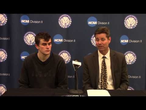 Northwood University Men's Basketball (1/8/15) NU 75, Tiffin 50 - Press Conference