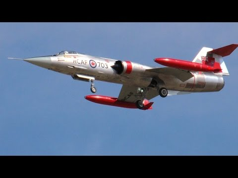 The Lockheed F-104 Starfighter...