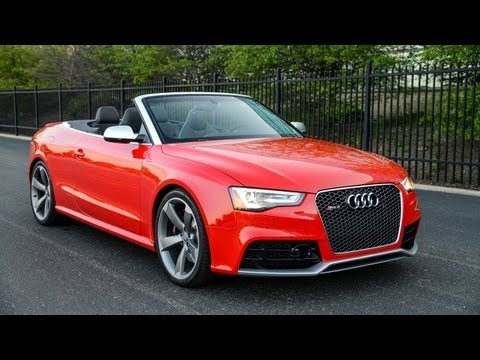 2013 Audi RS5 Cabriolet – WINDING ROAD POV Test Drive