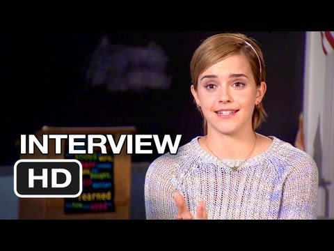 The Perks Of Being A Wallflower Interview - Emma Watson (2012) HD Movie