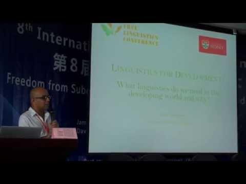 Dr. Ahmar Mahboob's talk at Free Linguistics Conference 2014