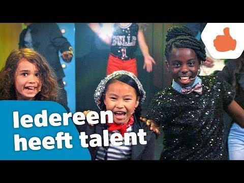 Iedereen heeft talent (Officiële videoclip) - Kinderen voor Kinderen