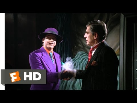 joy buzzer - Batman Movie Clip - watch all clips http://j.mp/x7WA8K Buy Movie: http://j.mp/vMXRF0 click to subscribe http://j.mp/sNDUs5 The Joker (Jack Nicholson) demonst...