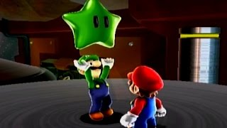 This is part 4 of a 2 player walkthrough of Super Mario Galaxy for the Nintendo Wii. I am Mario and my mom is the orange Star Cursor. Beach Bowl Galaxy: 01:0...