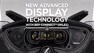 9. 2018 Can-Am Spyder - New Advanced Display Technology with BRP ConnectTM (Miles)