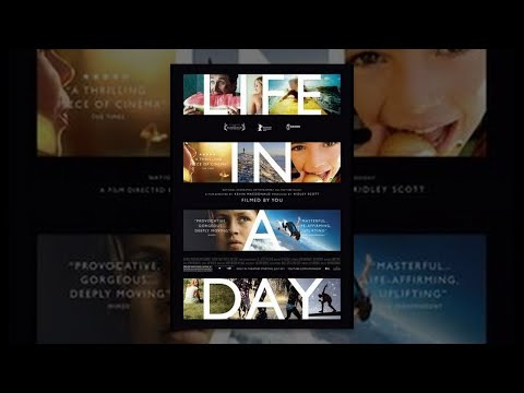 Day - Life In A Day is a historic film capturing for future generations what it was like to be alive on the 24th of July, 2010. Executive produced by Ridley Scott and directed by Kevin Macdonald. Soundtrack available here @ http://goo.gl/N9F6O For more...