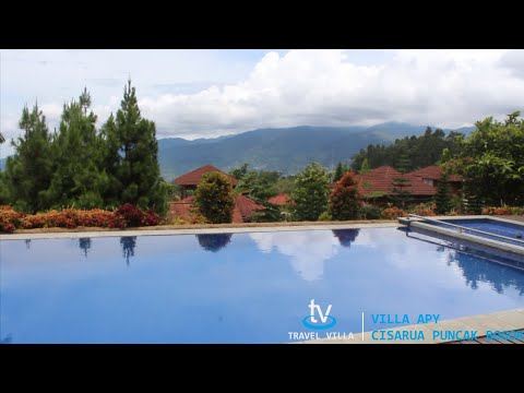 Villa Afy Puncak Cisarua Bogor Fasilitas Billiard Kolam Renang Pribadi dan View Yang Lepas