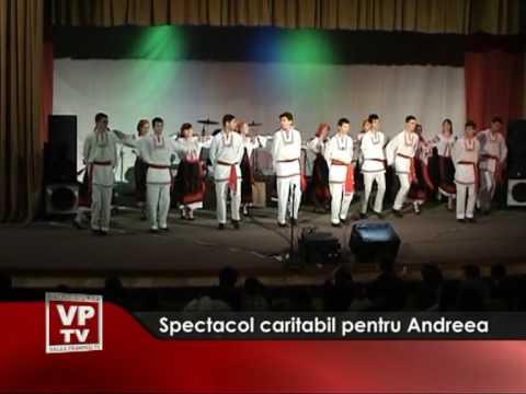 Spectacol caritabil pentru Andreea