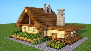 Minecraft: How to make a Starter House