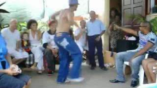 Cha nhảy Hiphop với con trai