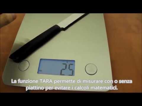 Bilancia da cucina in acciaio inox inossidabile da 1 g a 5 kg funzione tara Etekcity