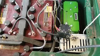 7. 2008 48v EZGO RXV Danaher to Navitas 600 amp TAC 1.0 Controller Install