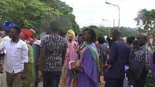 Ekiti State University 23rd Convocation ceremonies, Award of first degree