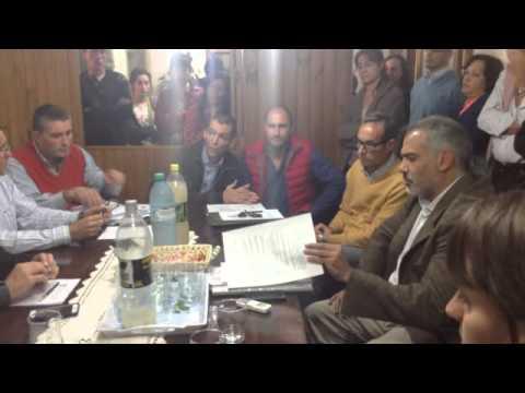 Los contratos municipales, otro de los temas tratados en el Concejo Deliberante