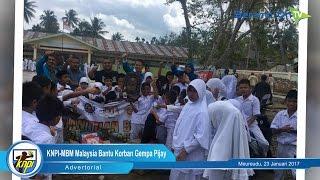 KNPI Aceh – MBM Malaysia Bantu Korban Gempa Pijay