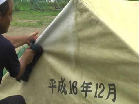 砂汚れで黄ばんだ集会用テント・運動会テントも白く蘇らせます