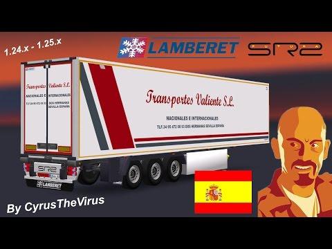 Lamberet Futura SR2 Standalone Trailer Spanish 1.24.x - 1.25.x