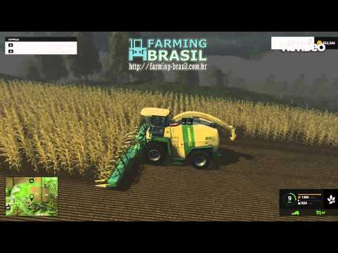 KRONE BIGX 1100 WITH 100K INCREASE DISCHARGE RATE V1.2