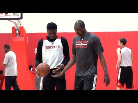 Rockets rookie Clint Capela talks about his NBA D-League experience