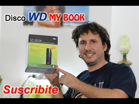 Unboxing Disco Rigido externo Western Digital My Book Essential 4TB Español Review