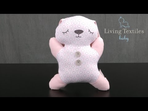 Bunny 2D Toy w/ Rattle from Living Textiles Baby & Kids