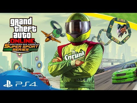 GTA Online | Southern San Andreas Super Sport Series | PS4