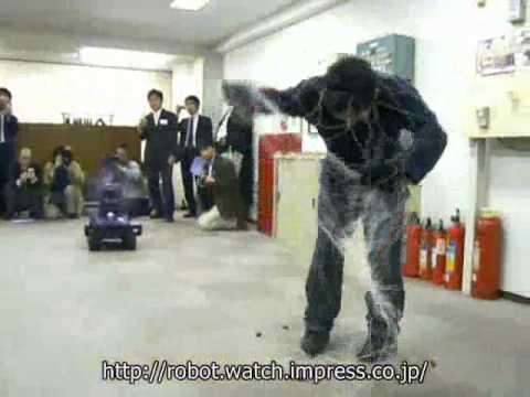 Un robot guardian se quedaran sin empleos los perros.