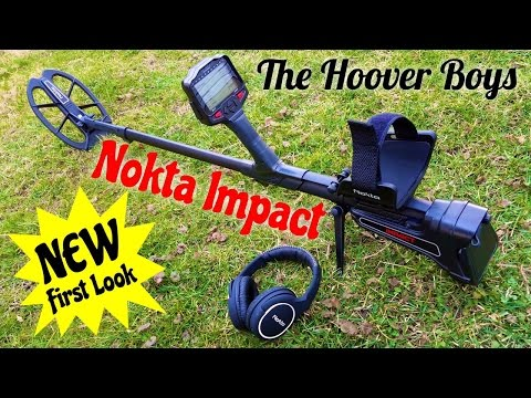 Nokta Impact Metal Detector Review Test First Look NEW 2017