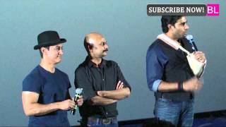 Dhoom 3 Trailer Launch: Aamir Spotted With Injured Abhishek, Katrina And Uday Skip Event
