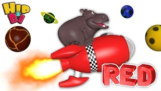 Funny Hippo Baby Play Puzzle Rocket Toys for Kids Hip Bi