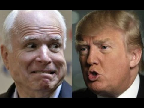 John McCain Falls In Line, Bows To Donald Trump