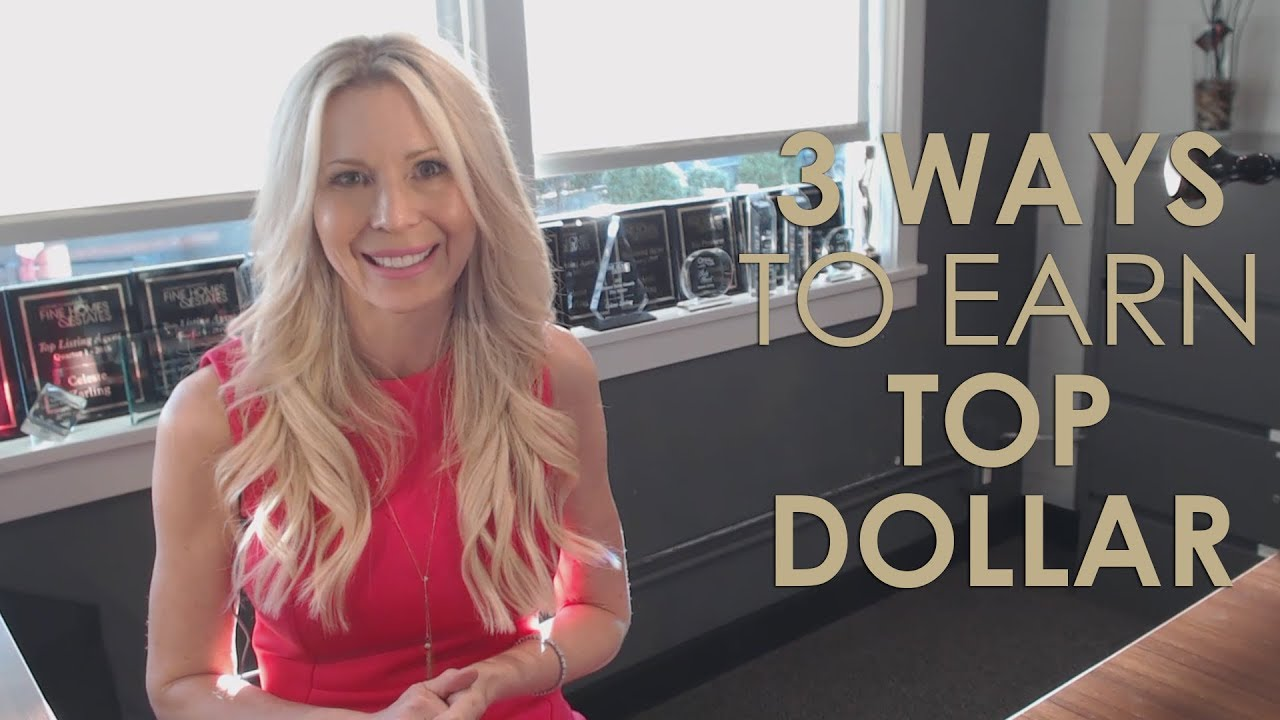 Get Top Dollar for Your Home by Following These 3 Steps