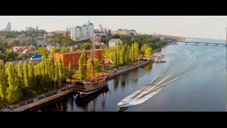 Voronezh Russia  city photos gallery : Аerial survey in Voronezh, Russia at 2014. Showreel.