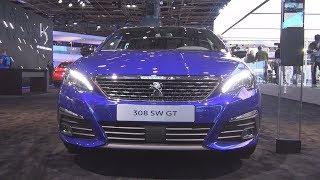 7. Peugeot 308 SW GT PureTech 225 S&S EAT8 (2019) Exterior and Interior