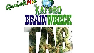 BRAINWRECK (strain review) from Kai'Dro | Quick Hit Review by Take a Break with Aaron & Mo