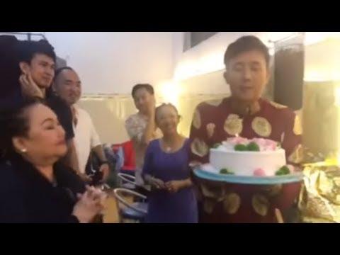 NSND Ngọc Giàu, Hoài Linh, Lê Giang bất ngờ chúc mừng sinh nhật Trấn Thành (5/2/2019) - Thời lượng: 102 giây.