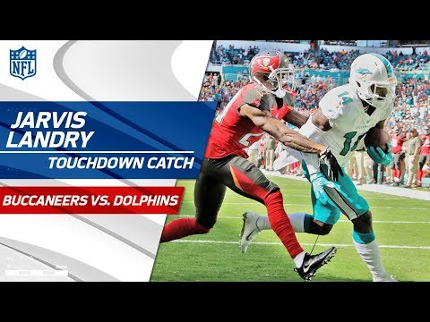 Video: Jarvis Landry Makes One-Handed Catch & Follows Up w/ TD Catch! | Bucs vs. Dolphins | NFL Wk 11
