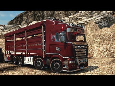 Scania R500 V2 8x4 Pickup Jilet 1.26