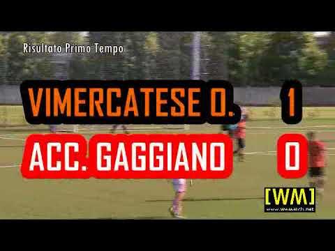 Vimercatese-Accademia Gaggiano Coppa Juniores (25.4.18)