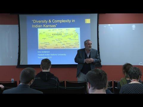 Kansas Day celebration speaker, Dr. Eric Anderson