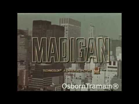 Madiigan Movie Trailer - Richard Widmark And Inger Stevens - 1968 Universal Studios