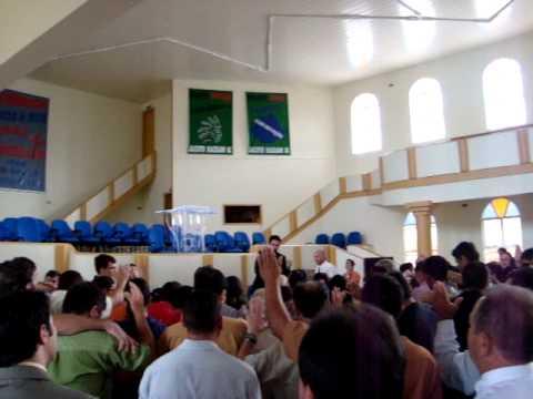 jovem jonatas rocha pregando em jacinto machado parte II