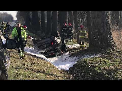 Wideo: Wypadek mustanga GT pod Niemstowem