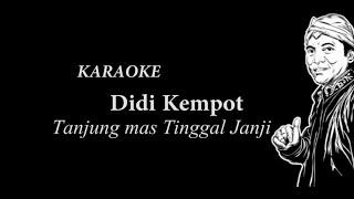 Video Didi Kempot Tanjung Mas Tinggal Janji Karaoke MP3, 3GP, MP4, WEBM, AVI, FLV Desember 2018