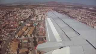 Javier Spain  city pictures gallery : Approach to Murcia San Javier (Spain) - Jet2.com 737-300