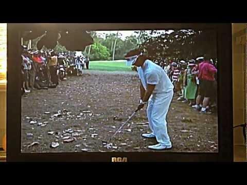 Bubba Watson Recovery Shot Masters 2012