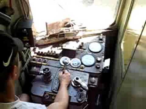 Démarrage en cabine d'un X2800
